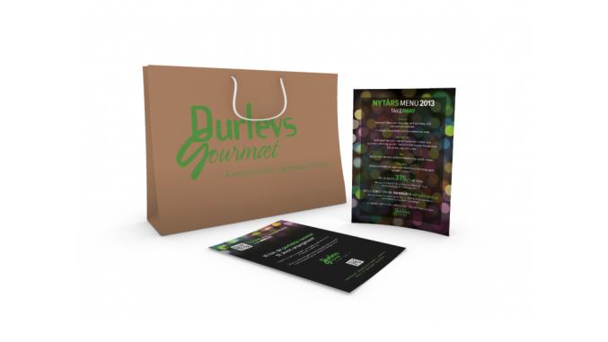 Nytårs menu til Durlevs Gourmæt